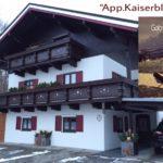 Appartement Kaiserblick in Ellmau - Haus